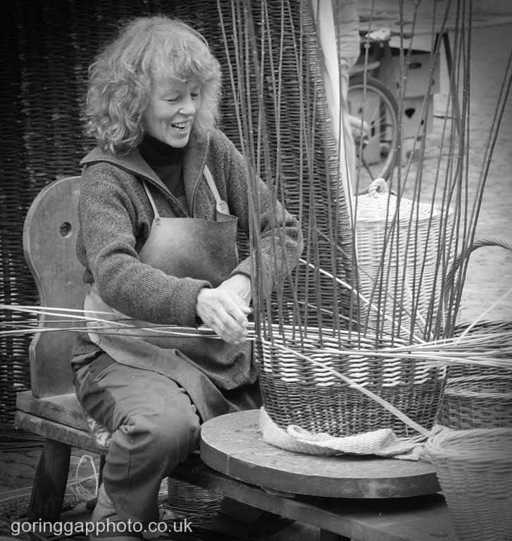 THE BASKET-MAKER by Peter Brass