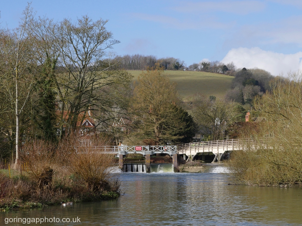 STREATLEY WEIR by Peter Brass