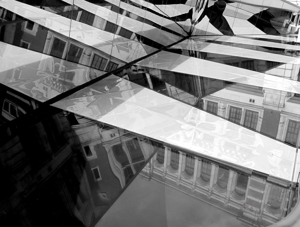 VAM COURTYARD REFLECTIONS by Fiona Sutcliffe