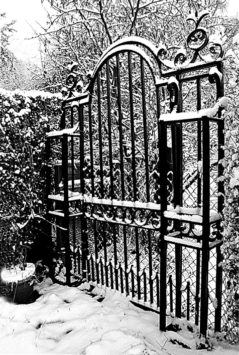 VICTORIAN GATE by Ros French