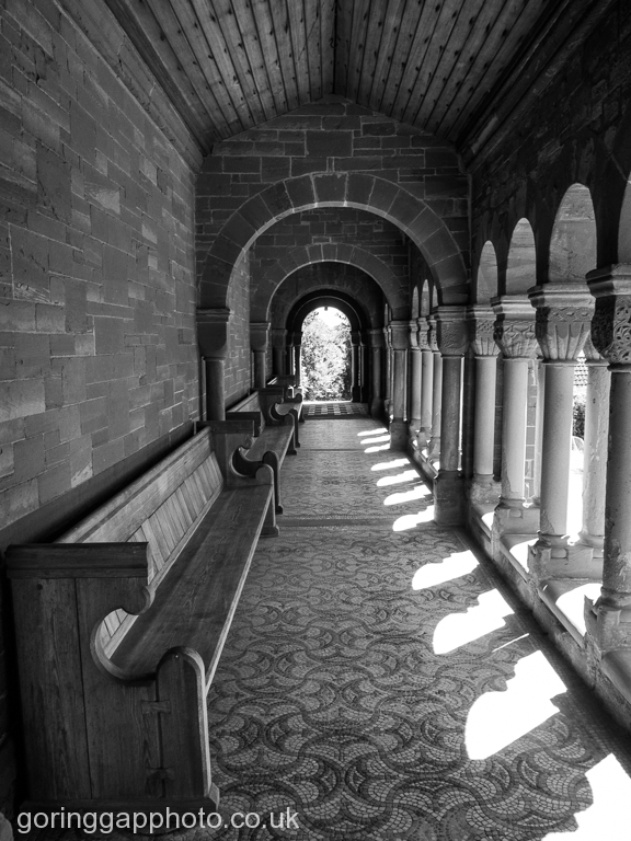 HOARWITHY CLOISTER by Steve Rock