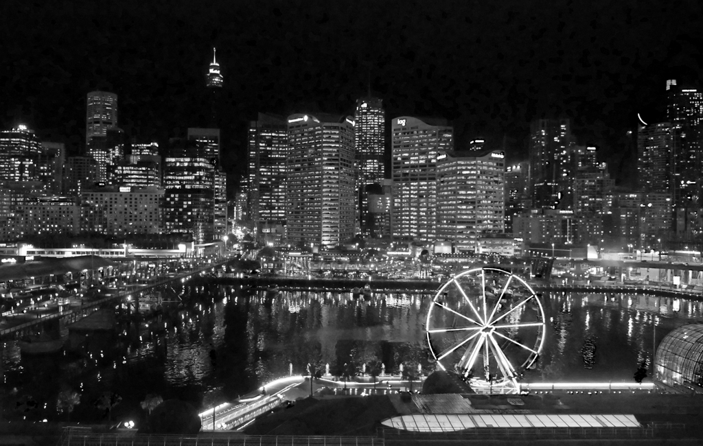 DARLING HARBOUR SYDNEY by Peter Brass