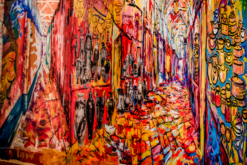 OXFORD ABSTRACT by Chris Stevens