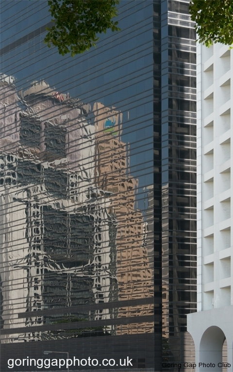 HSBC REFLECTED by Peter Brass
