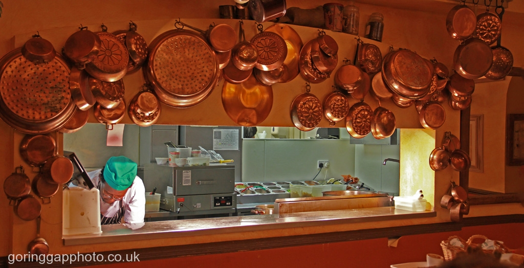 GLORIOUS FOOD IN THE MAKING by Dick Lysons