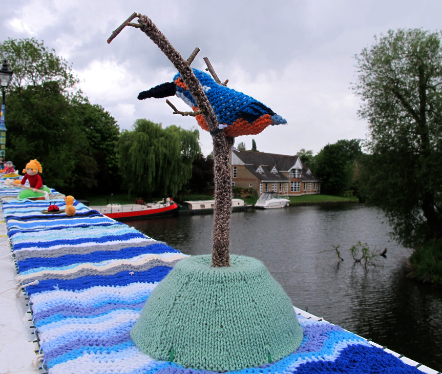 KNIT FISHER by Fiona Sutcliffe