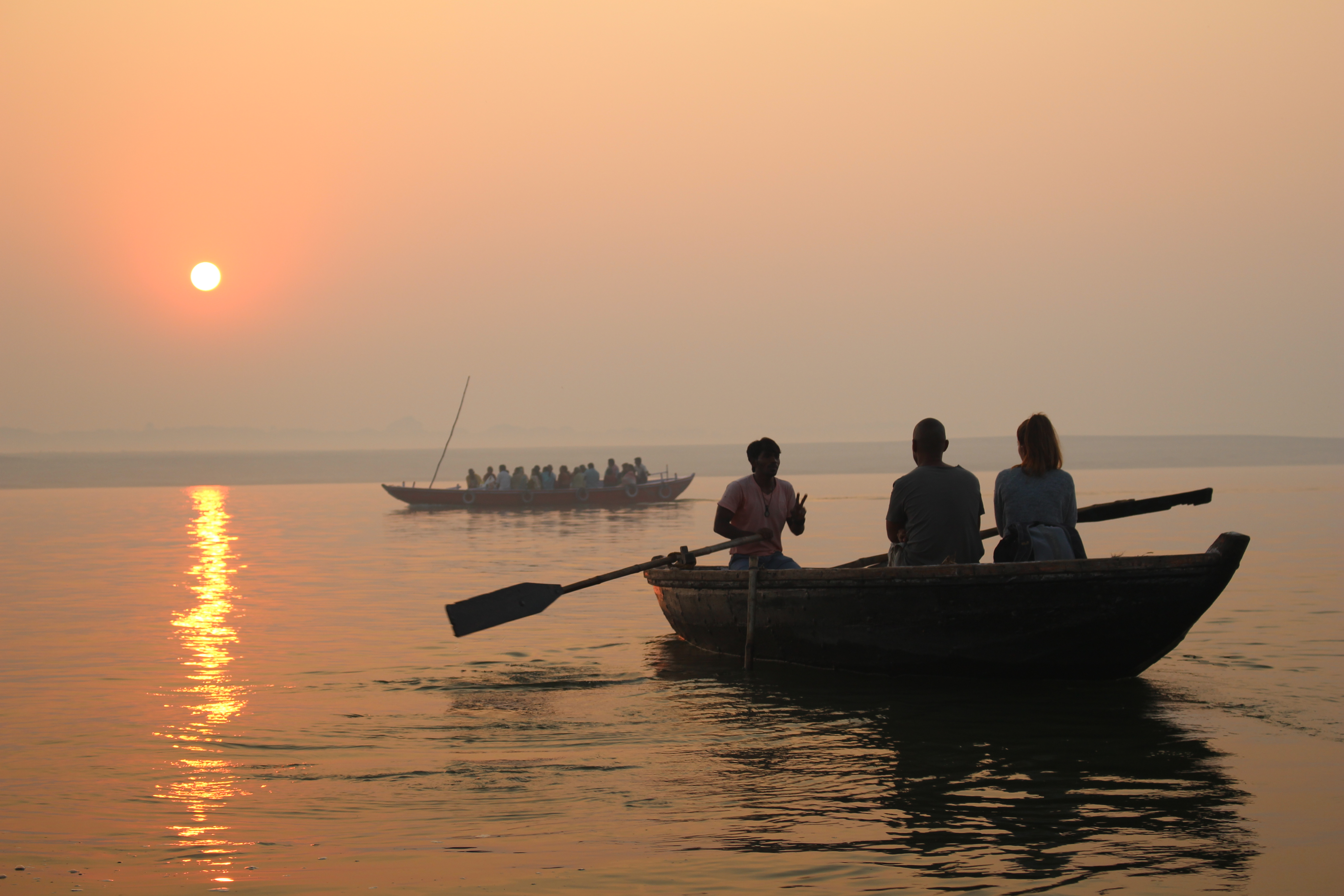 SUNRISE OVER THE GANGES by June Cryer