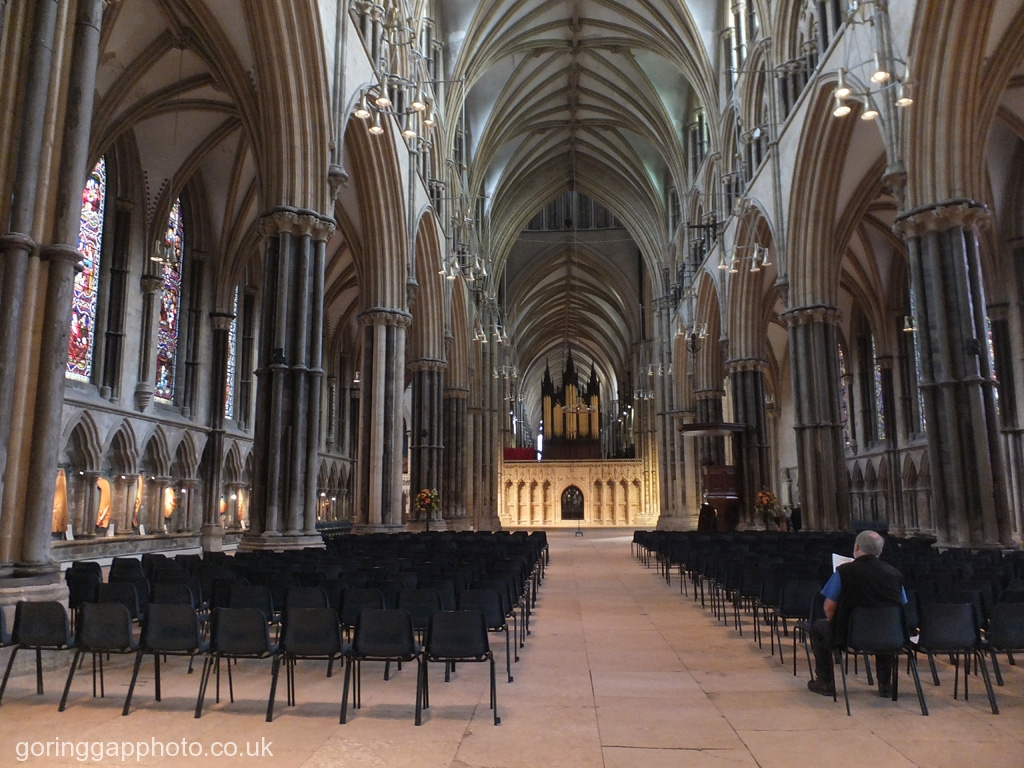 IN LINCOLN CATHEDRAL by June Cryer
