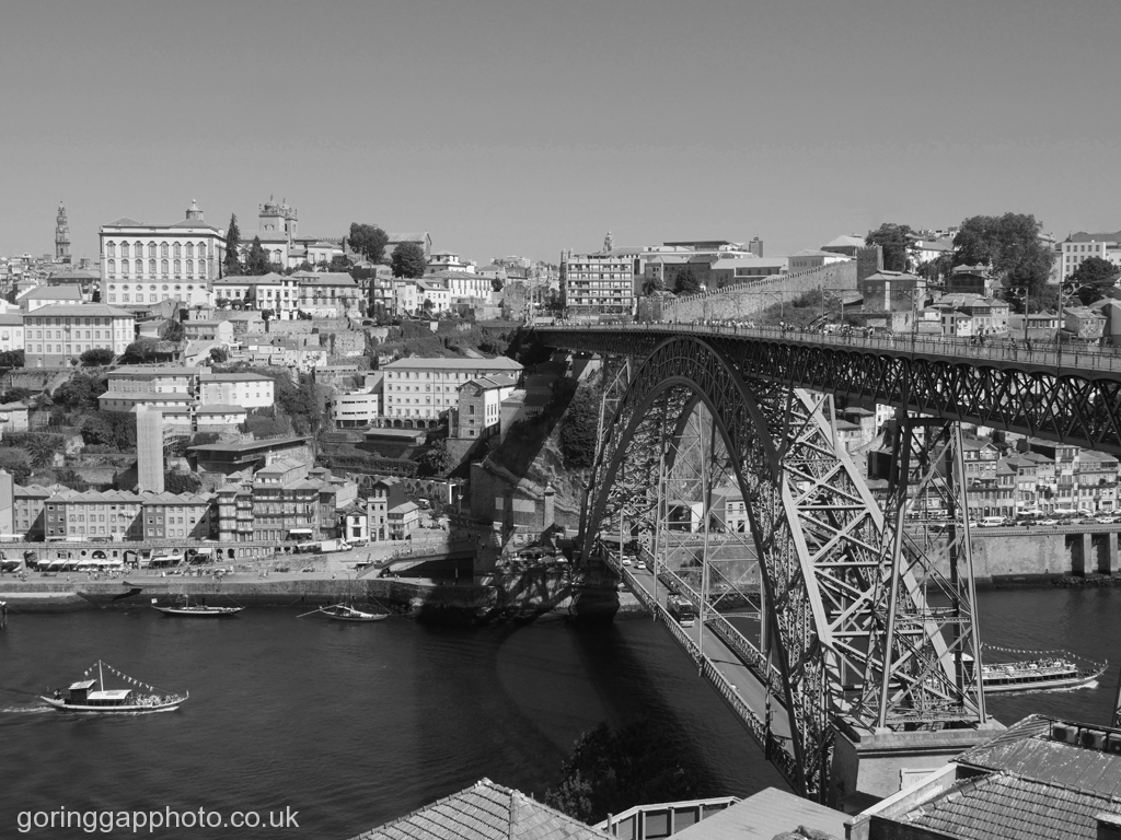 DOM LUIS BRIDGE PORTO by Peter Brass