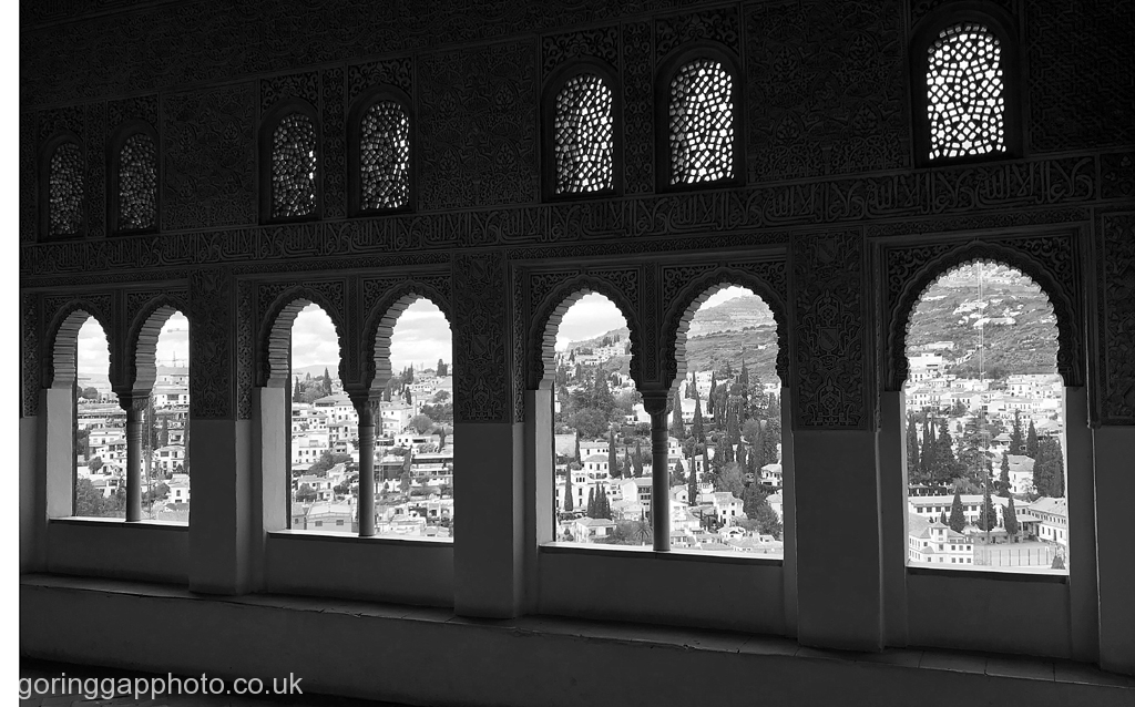 THROUGH MOORISH WINDOWS by Ros French