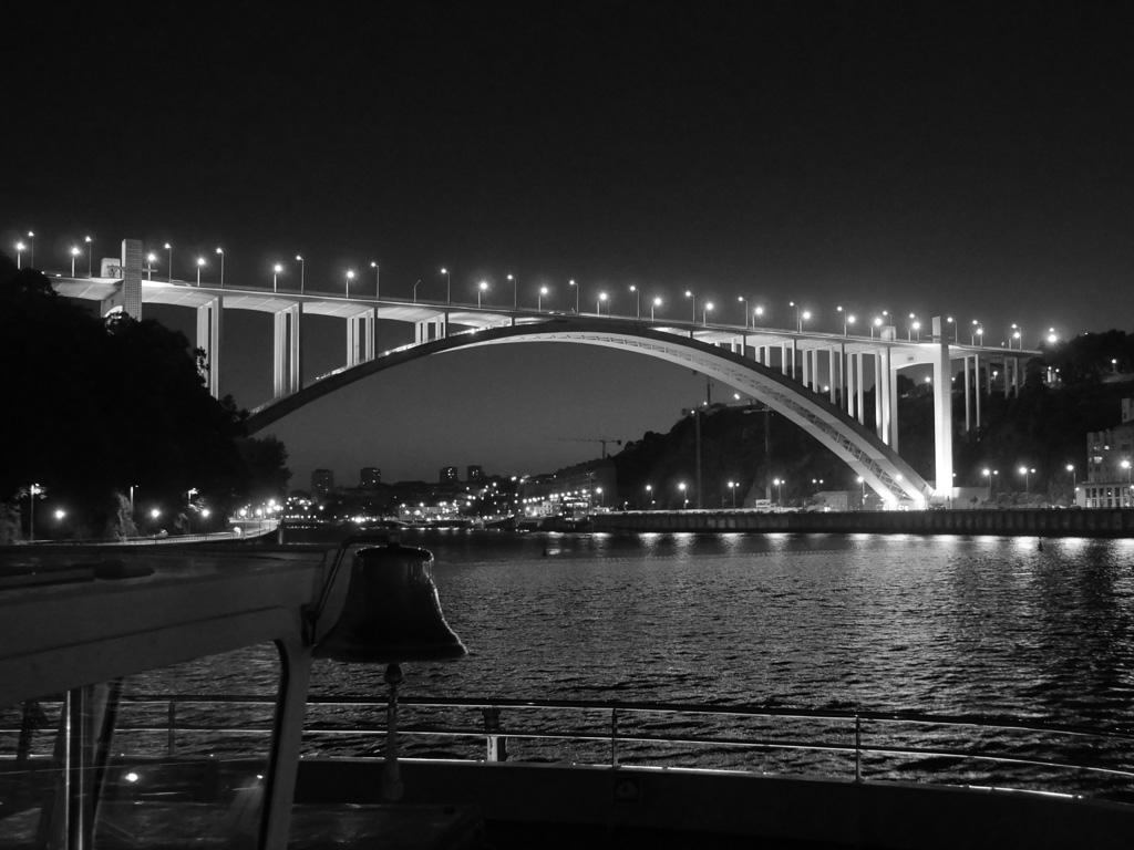 ARRABIDA BRIDGE PORTO by Peter Brass